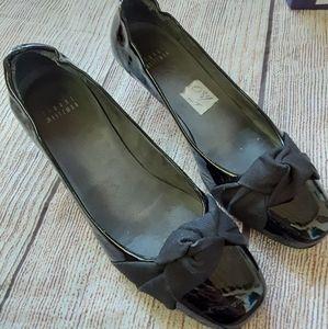 Stuart Weitzman black patent leather shoes 6.5